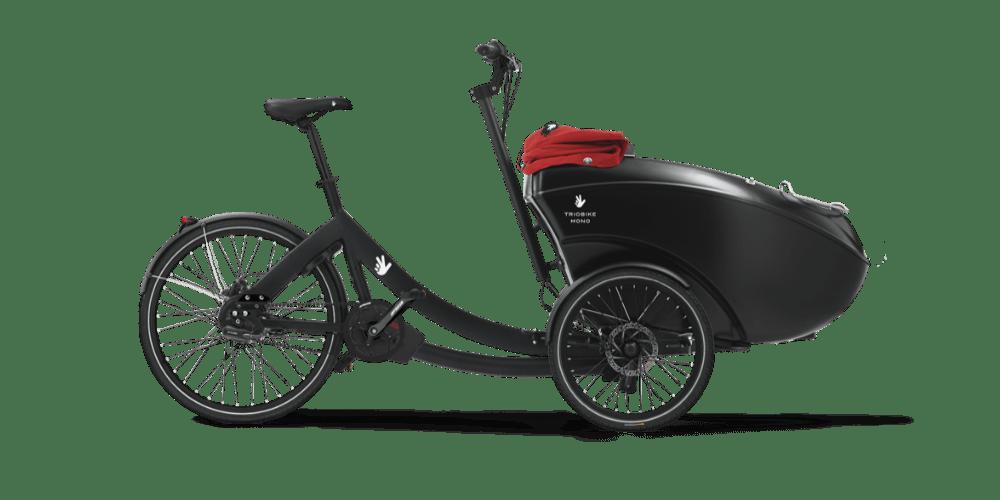 Triobike mono ladcykel i sort