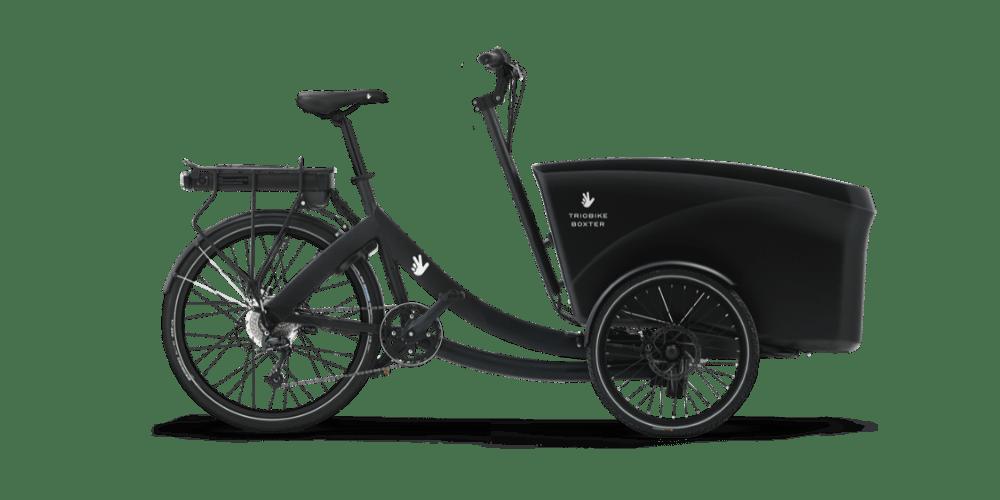 Triobike boxter ladcykel i sort